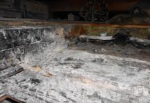 Brand am Dach Einfamilienhaus