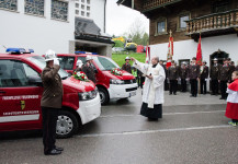 Florianifeier und Fahrzeugweihe MTF