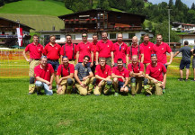 Bezirksnassbewerb in Oberau 28.07.2018