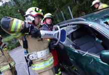 Übung neues Rettungsgerät 31.07.2019