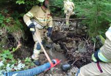 Waldbrandübung Gruppe 2 25.06.2020