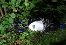 Verkehrsunfall Motorrad 21.08.2020
