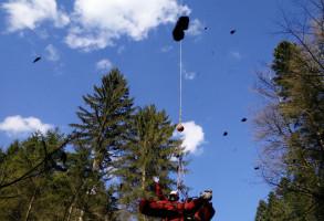 Kajakunfall mit Helikopter Bergung