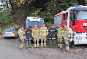 Bezirksübung in Schwoich 14.10.2017