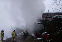 Heizungsbrand Bauernhaus Pfasthof