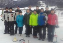 Dorfmeisterschaft Eisstockschießen