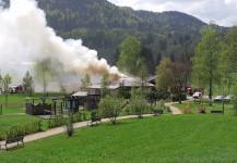 Brandeinsatz Bistro Blaubart