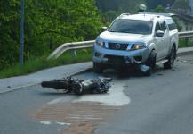 Verkehrsunfall Motorrad 16.05.2019