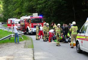 Verkehrsunfall Motorräder 05.09.2020