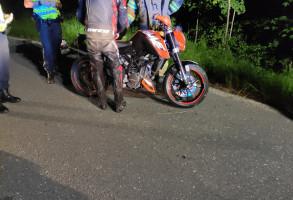 Motorradunfall Lebensgefahrkurve 11.06.2021