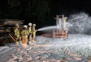 Brandübung Stapler Gruppe 1 16.09.2021