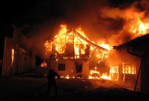 Brand ehemalige Zimmerei