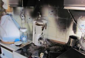 Küchenbrand Bäckenbichl